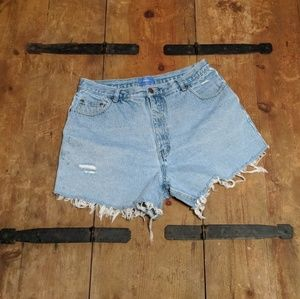 Vintage cut off Mom jeans
